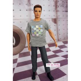 04493816bf3c1 Boneco Ken Sem Roupa - Brinquedos e Hobbies no Mercado Livre Brasil