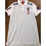 Camisa Pólo Seleção Brasileira Oficial Dos Jogadores 4b2c6c2e73826