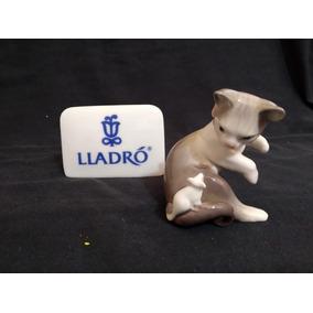 Gatinha Com Ratinho Lladró Porcelana Espanhola