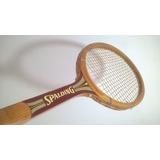 Raquete De Madeira Spalding Championship