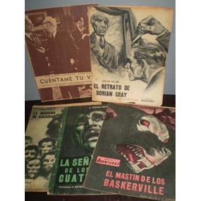 Aventuras Lote 5 Comics Antiguos Argentinos Dorian Gray