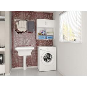Armário Multiuso Organizador Para Lavanderia E Banheiro