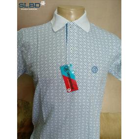 Camisa Polo Smith Brothers Listrada Ref 3533 Branco azul 7298f5c18d1d9