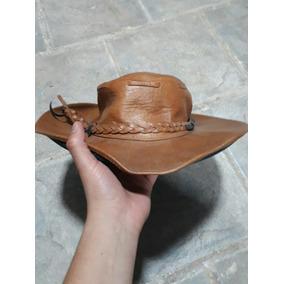 Sombrero Tipo Cowboy Vini Piel Color Camello En Buen Estado 5f00aa55837