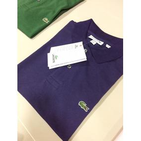 Camisa Polo Original Lacoste Cotton Petit Piqué