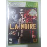 L.a. Noire Para Xbox 360 + Envió Gratis