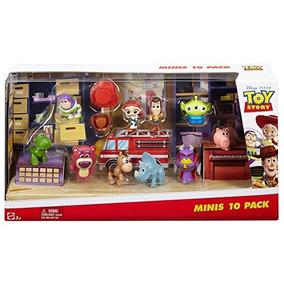 Disney Pixar Toy Story Deluxe Mini Figure Set - 10 Paquete ac6ee72afec