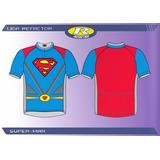 Camisa Ciclismo Refactor Superman/super Homem/dc Comics G
