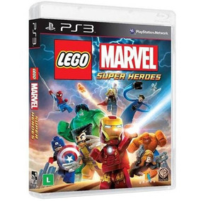 Lego Marvel Super Heroes Ps3 Mídia Digital Psn Ptbr Promoção