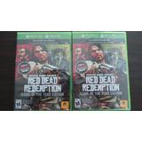 Red Dead Redemption Xbox 360 Nuevo Sellado