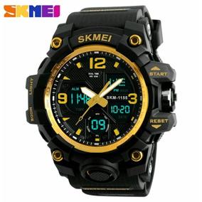 5852683c098 Relogio Marinus 50m Dourado - Relógios De Pulso no Mercado Livre Brasil