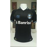 Camisa Gremio Preta Black no Mercado Livre Brasil 960cf15e62d50