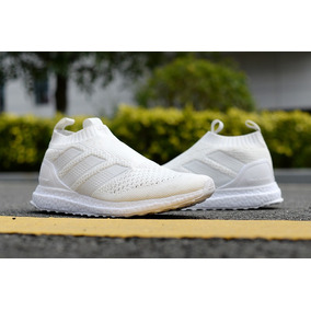 more photos 01f54 8ef55 adidas Ace 16+ Purecontrol Ultraboost Triple White