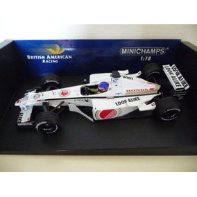 Jacques Villeneuve Bar Honda 003 10 F1 2001 1:18 Minichamps