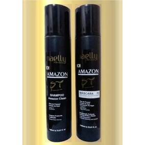 Naelly Amazon P2 Semi Definitiva + Shampoo + Brinde