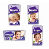 Pañal Para Bebe Babysec Premium Hiperpack Todas Tallas