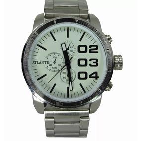 020fe79fb78 Relogio Prata Masculino Grande Barato - Joias e Relógios no Mercado ...