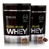 Combo 2x 100% Pure Whey Refil 825g - Probiótica