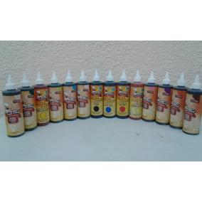 Colorante En Gel Comestible 250ml 10 Pzas
