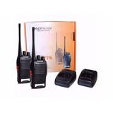 Kit 2 Radio Ht Uhf 16 Canais Comunicador Profissional 777s