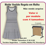 Moldes Regata De Malhar no Mercado Livre Brasil e01cc5dd3ed