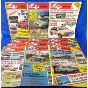 Lote Revista Quatro Rodas (12) N°269,267,268,264,266,265...