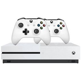 Console Xbox One S 1tb 2 Controle Sem Fio Original Envio Já