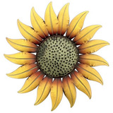 Placa De Pared De Girasol Decorativa De Metal De 14 X26quot