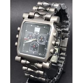 e166a7c58b1 Relógio Tank Minute Machine Masculino Importado Oakley Top!