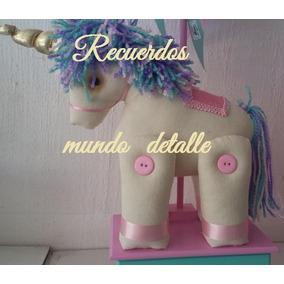 Unicornio Piñata Bolo Fiesta Lampara Centro De Mesa