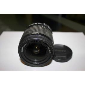 Lente Canon Efs 18_55 Mm, Estabilizador Imag