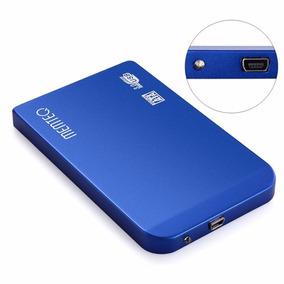 Hd Externo 500gb Slim Azul