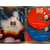 Blue Man Group Dvd Video Live Original El Cd Dañado