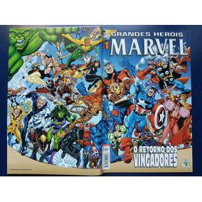 Grande Heróis Marvel O Returno Do Vingadores Hq Gibi Vintage