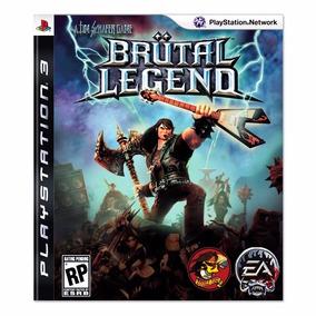 Jogo Brutal Legend Ps3 Usado Midia Fisica