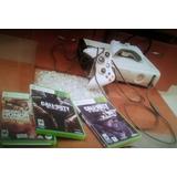 Xbox 360 4 Juegos Originales Y 3 Controles
