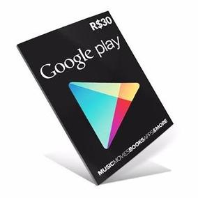 3cc05b907bcb Cartao Google Play 30 Dolares - Games no Mercado Livre Brasil