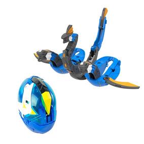 Boneco Ryukari Hydra Dragon Azul Br091 Multikids