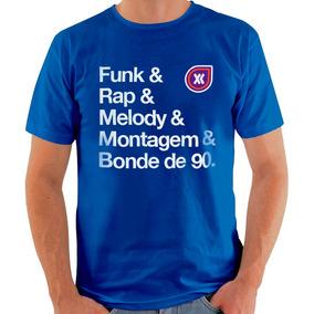 89e72d0e464da Camisa 4m Funk - Calçados, Roupas e Bolsas Azul no Mercado Livre Brasil