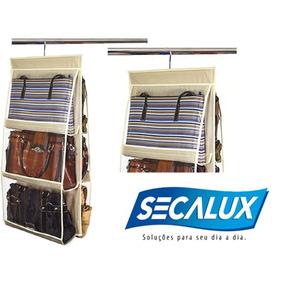 Bolsas Femininas E Mochilas / Organizador Cabide P/ 6 Bolsas