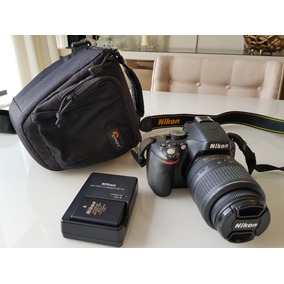 Câmera Profissional Nikon D5100 Impecável Com Bateria Extra