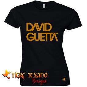 Playera Djs David Guetta Mod. 03 By Tigre Texano Designs
