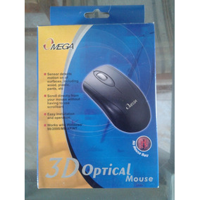 Omega - Mouse Negro Ps2