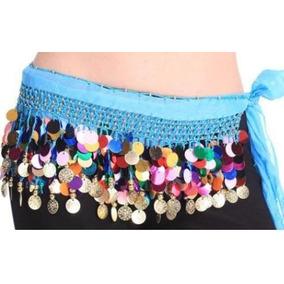 Super Fajilla Pareo Varios Colores Danza Arabe Bellydance