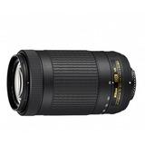 Lente Nikkor 70-300mm Af-p E Ed F:4.5-6.3 Dx Vr