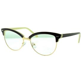 Armaçao De Oculos De Grau Feminino Retro Gato - Óculos no Mercado ... 109f7bb3e8