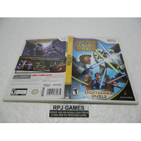 Star Wars The Clone Wars Original Completa Nintendo Wii Loja