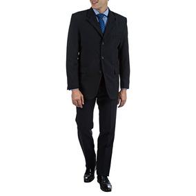 Terno Colombo Masculino Azul Marinho Liso