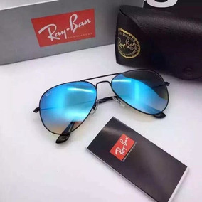 7e9e1e884b53e Óculos De Sol Ray Ban Aviador Preto 100% Uv Protection - Óculos no ...