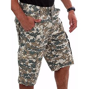 Combo 3 Bermudas Reforçadas Táticas Masculinas Camufladas